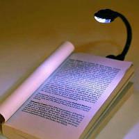 Led светильник для чтения на батарейках