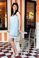 Летнее платье с V-образным вырезом для кормящих мам