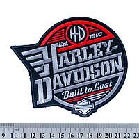 "Нашивка Harley-Davidson ""Built to Last"""