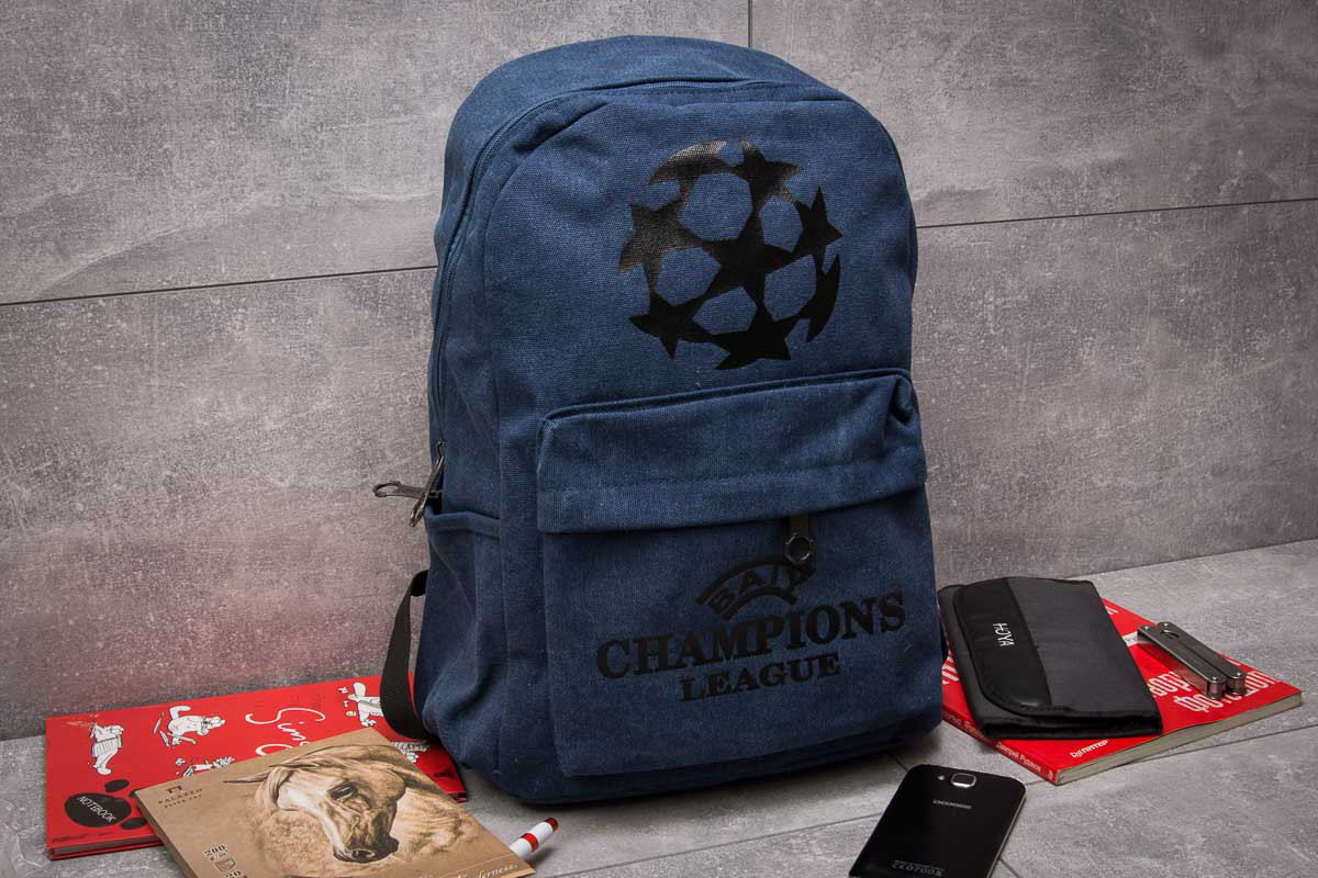 Рюкзак унисекс Champions League, темно-синие (90033),  [   1  ]