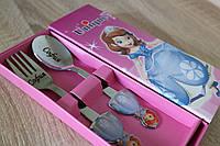 София прекрасная на детских ложках с нанисением имени, фото 1