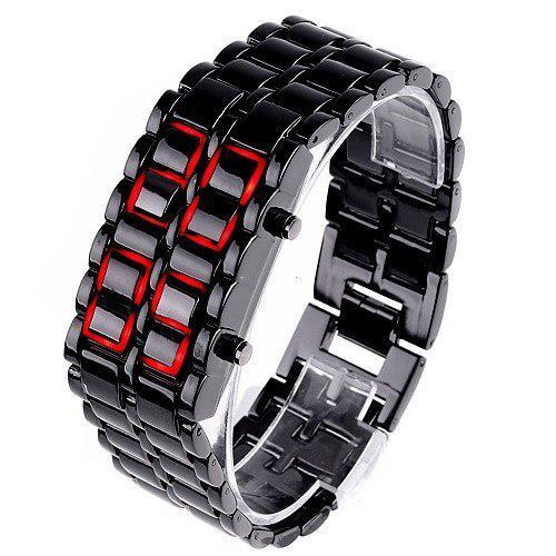 """Часы браслет """"Железный самурай"""" (Iron samurai)."""