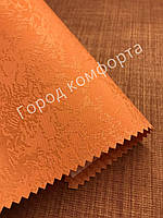 Рулонная штора Агат оранжевая, фото 1