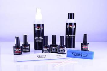 Стартовый набор для покрытия гель-лаком Vizavi №5