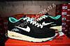 Кроссовки Nike Air Max 90 Black Mint Черные женские, фото 2