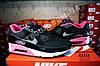Кроссовки Nike Air Max 90 Black Pink Черные женские, фото 2