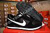 Кроссовки Nike Air Black White Черные мужские реплика, фото 2