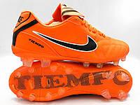 Бутсы футбольные Nike TIEMPO (р.40-44) NEW! U-007T-7