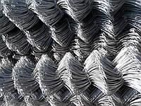 Сетка рабица оцинкованная 50х50 высота 1м