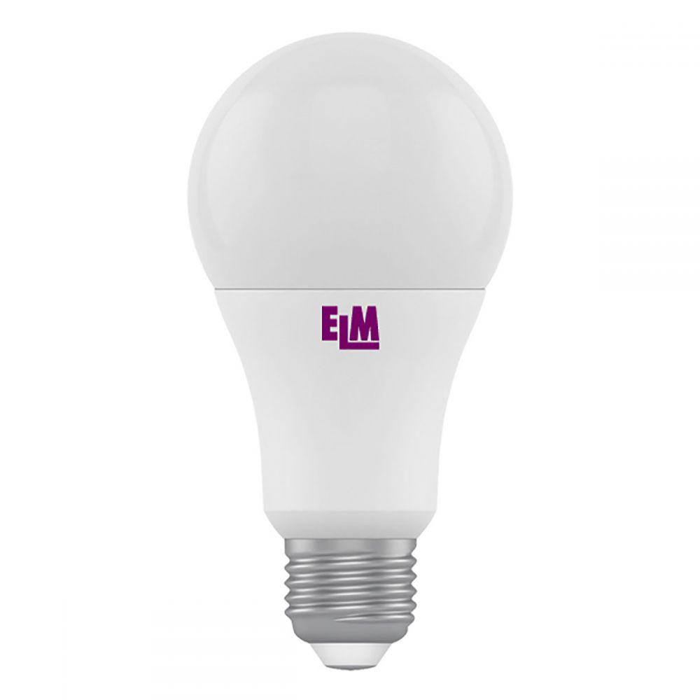 Светодиодная лампа ELM B60 10W PA10L E27 3000 (18-0060) Тепло-белый