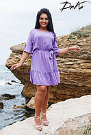 Платье летнее волан  в расцветках 2009, фото 1