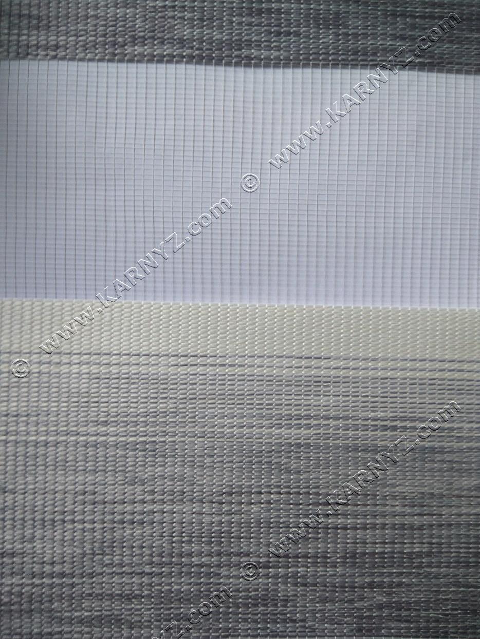 Рулонные шторы День-Ночь Меркурий B-125 серый