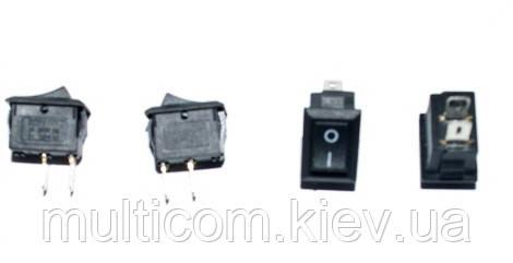 11-02-016. Переключатель KCD-1 (ON-OFF), 2pin, 10А-125V/6A-250V, черный