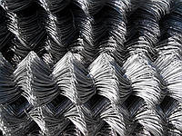 Сетка рабица оцинкованная 50х50 высота 2м, фото 1