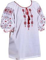Вышиванка женская с коротким рукавом. Росава.