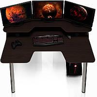 Геймерский игровой компьютерный стол ZEUS IGROK-5 венге