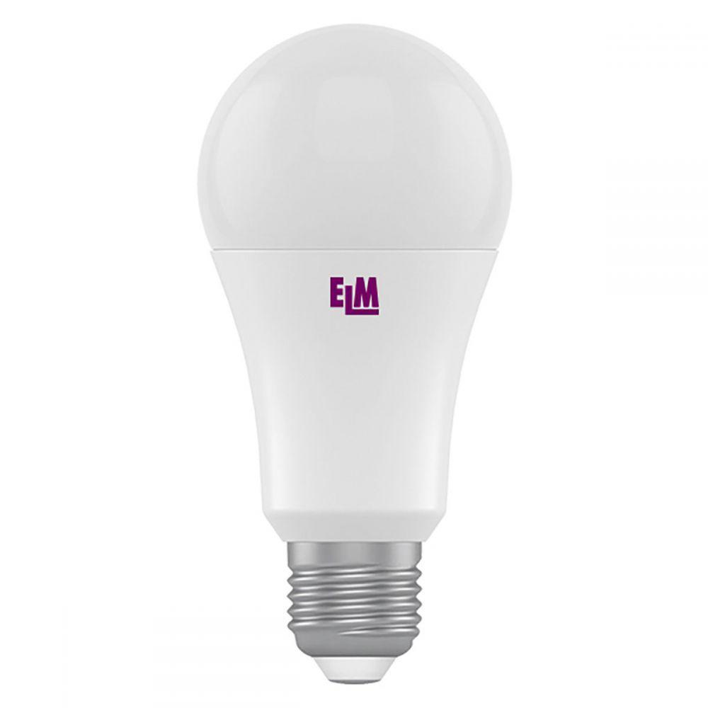 Світлодіодна лампа ELM B60 14W PA10L E27 3000 (18-0148) Тепло-білий