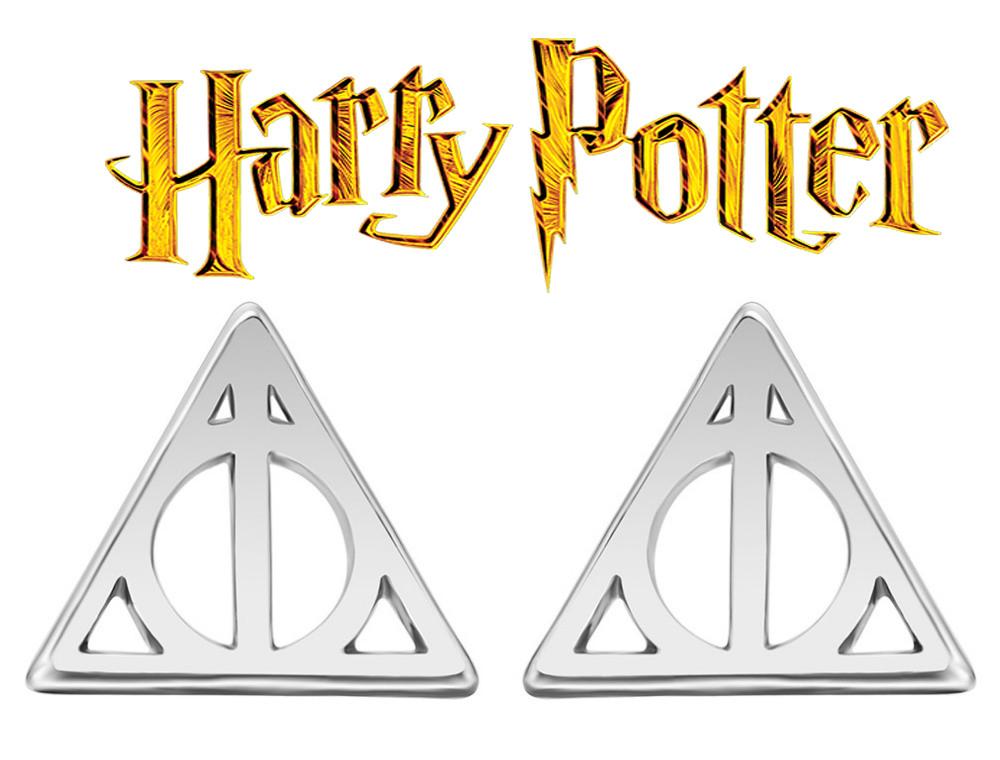 Серьги Дары Смерти из Гарри Поттера Harry Potter