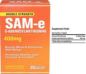 Puritan's Pride, SAM-e, 400 мг, 10 таблеток (блистер)