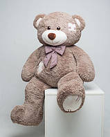 Плюшевий ведмедик Mister Medved з латками Капучіно 150 см