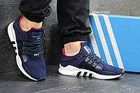 Мужские кроссовки Adidas Equimpent   Адидас Эквипмент  -темно-син-Сетка ,подошва пена . размеры:41 -45 Вьетнам, фото 1