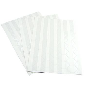 Уголки для фотографий основа белая самоклеющиеся на листе 102 уголка