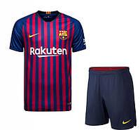Футбольная форма Барселоны (домашняя), сезон 2018/2019