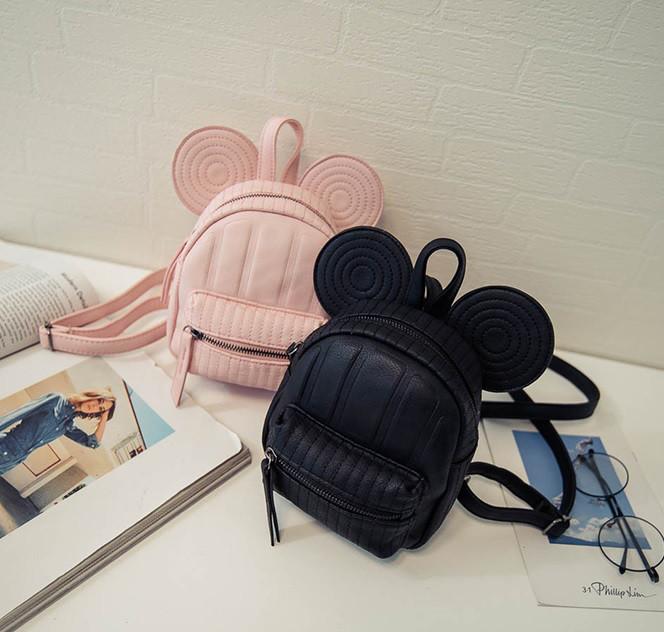 Милый мини рюкзак с ушками Мики Маус