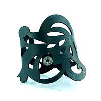 Браслет кожаный Scappa V-3103 Black