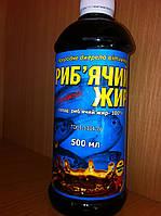 Риб'ячий жир натуральний 100% фл-500 мл