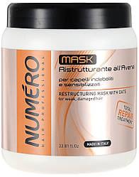 Brelil Numero repair Маска для волос восстанавливающая с овсом 1000 мл