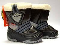 Cапоги зимние - дутики - сноубутсы для детей Demar Toby 4031 (черный)