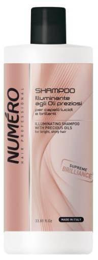 Brelil numero brilliance Шампунь для волос с ценными маслами 1000 мл