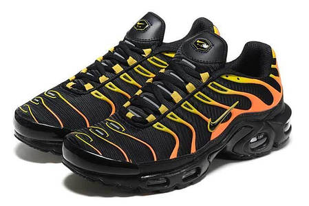 b12195c34bd80f Мужские кроссовки Nike Air Max TN Plus Black/Red Fire (Топ реплика ААА+