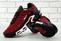 a77739c30284d5 Мужские кроссовки Nike Air Max Tn Plus Red Black (Топ реплика ААА+) ...