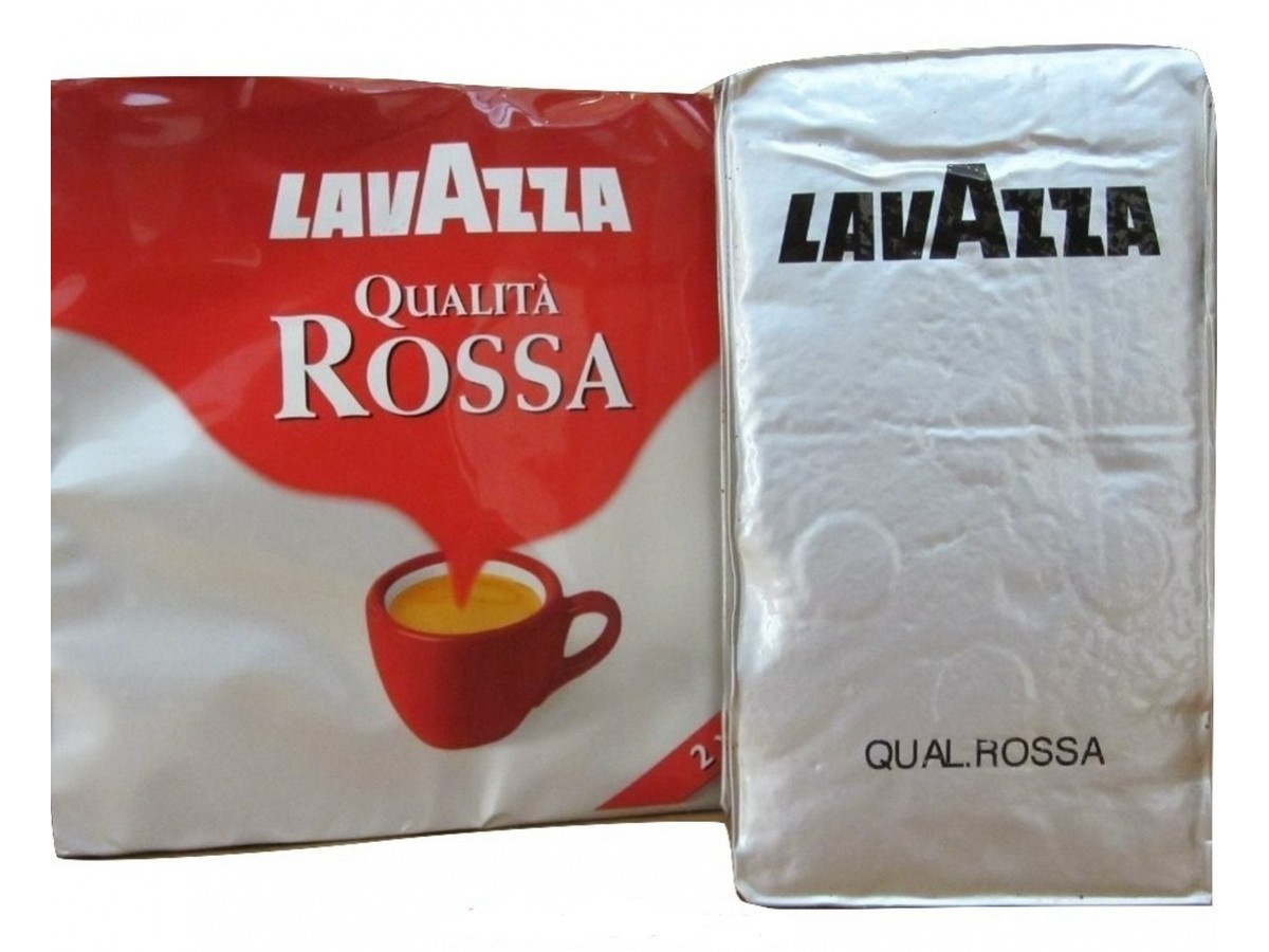 Кофе молотый Lavazza Qualita Rossa 250г Италия
