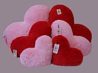 Плюшева іграшка Mister Medved Подушка-сердце Рожева 75 см