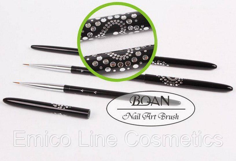 Кисть для росписи, металлическая BQ-РM008