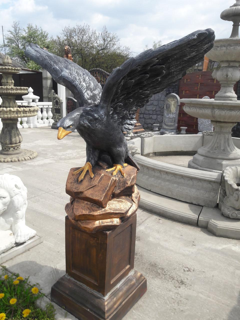Купить скульптуру орла из бетона раствор бетона купить в красноярске