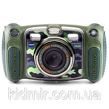 Дитячий фотоапарат Vtech Kidizoom Camera DUO Camouflage з відео-записом