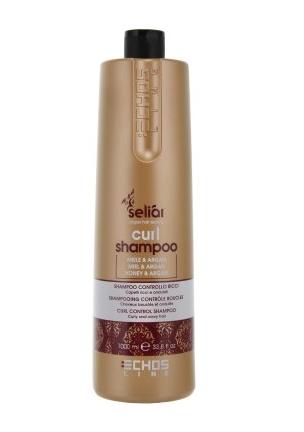 ECHOSLINE Seliar Curl Shampoo - Шампунь для вьющихся волос мед и масло Аргании 1000 мл