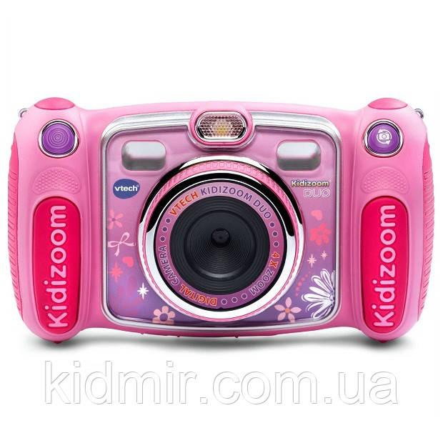 Детский фотоаппарат Vtech Kidizoom Camera DUO Pink с видео записью
