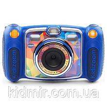 Дитячий фотоапарат Vtech Kidizoom Camera DUO Blue відео з записом