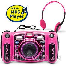 Дитячий фотоапарат Vtech Kidizoom Camera DUO 5.0 Digital Deluxe Pink відео з записом