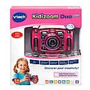 Детский фотоаппарат Vtech Kidizoom Camera DUO 5.0 Deluxe Digital Pink с видео записью, фото 7