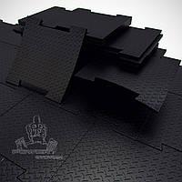 Резиновое покрытие (плитки). Толщина 40 мм.