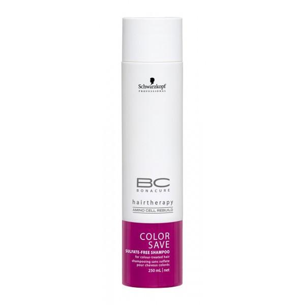 Schwarzkopf BC COLOR FREEZE Silver Shampoo Шампунь, который предаёт серебр. оттенок волосам 250 мл