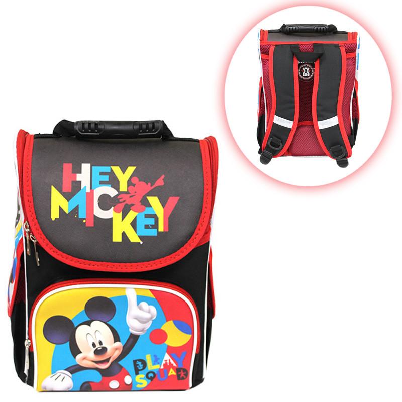 f18311f4c4e0 Ранец (рюкзак) - короб ортопедический для мальчика - Микки Маус, Smile  988501