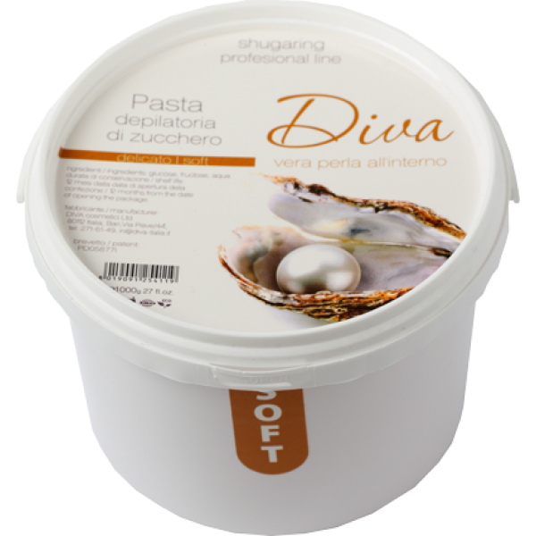 Diva Сахарная паста для депиляции мягкая Soft, 1100 г