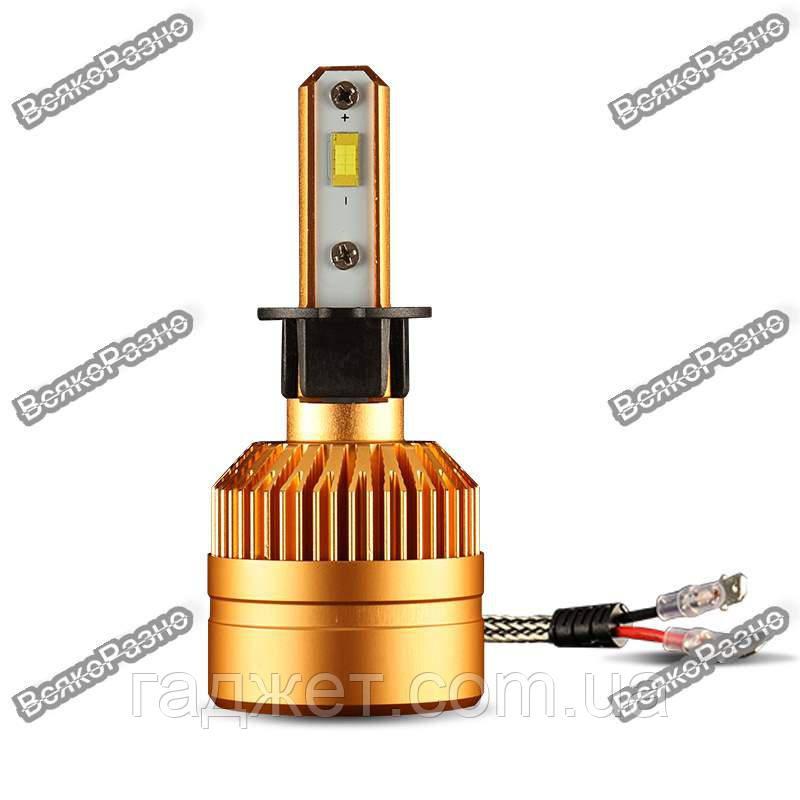 LED лампы для авто с чипом Philips1515/1313 H3, светодиодные лампы для автомобиля